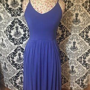 Blue Cynthia Rowley Stretch Dress